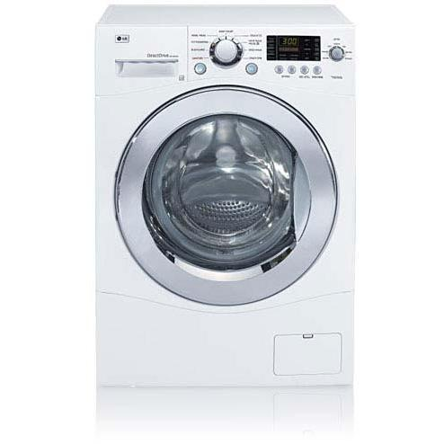 LG WM1355HW 2.7 Cu. Ft. Front Load Washer - White