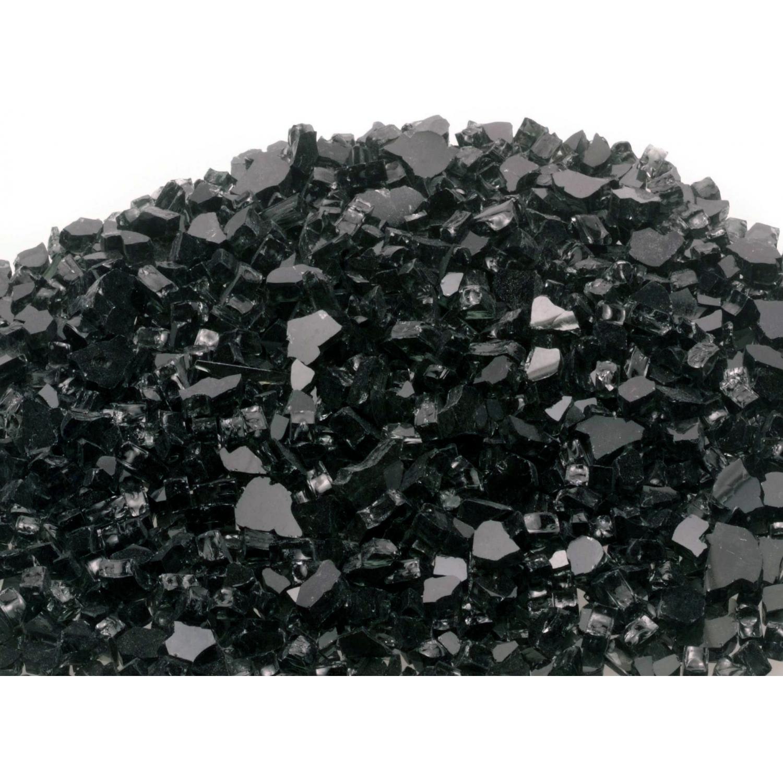 Peterson Fyre Glass Black Fire Glass - 10 Lbs 2743686