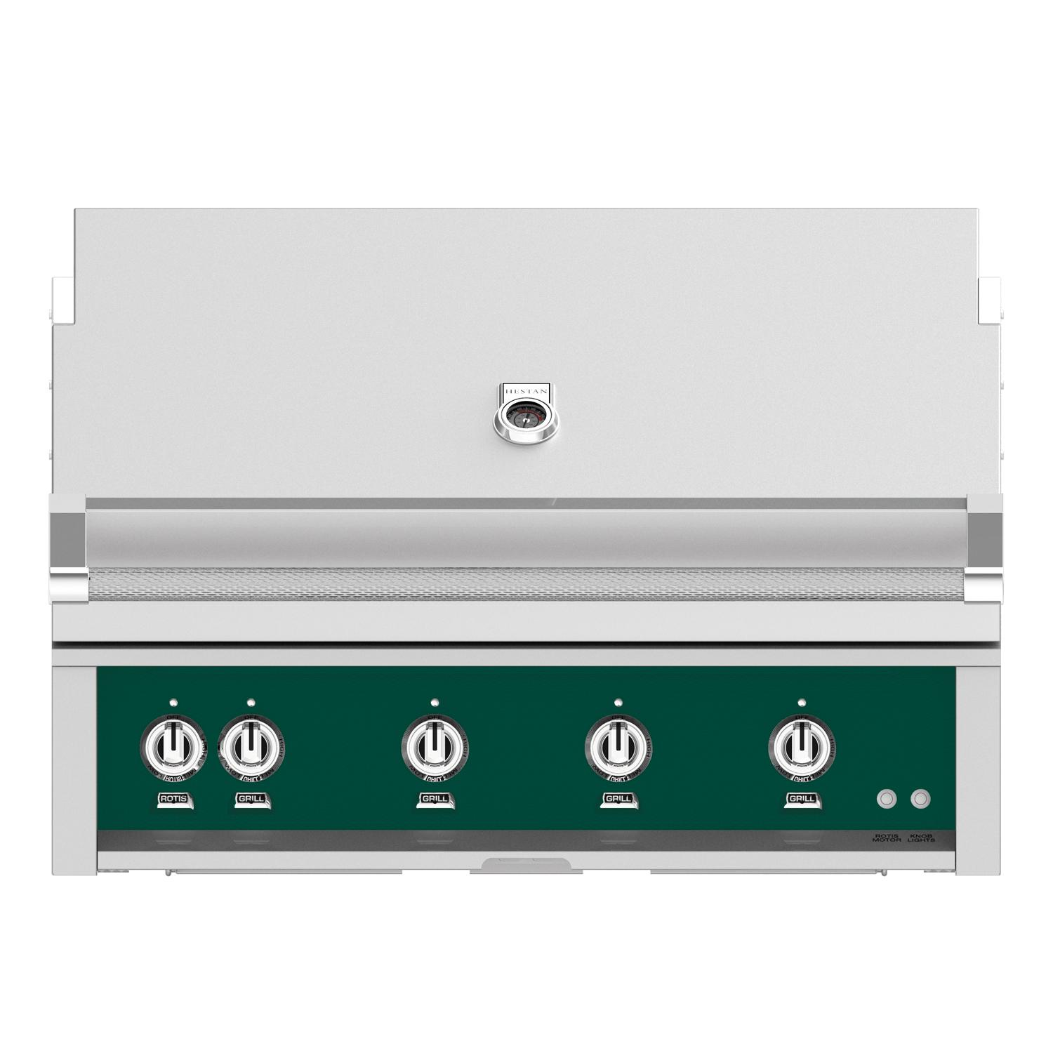 Hestan 42-Inch Built-In Propane Gas Grill W/ All Infrared...