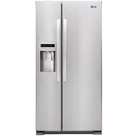 LG LSC23924ST 23 Cu. Ft. Side By Side Refrigerator / Freezer - Stainless Steel