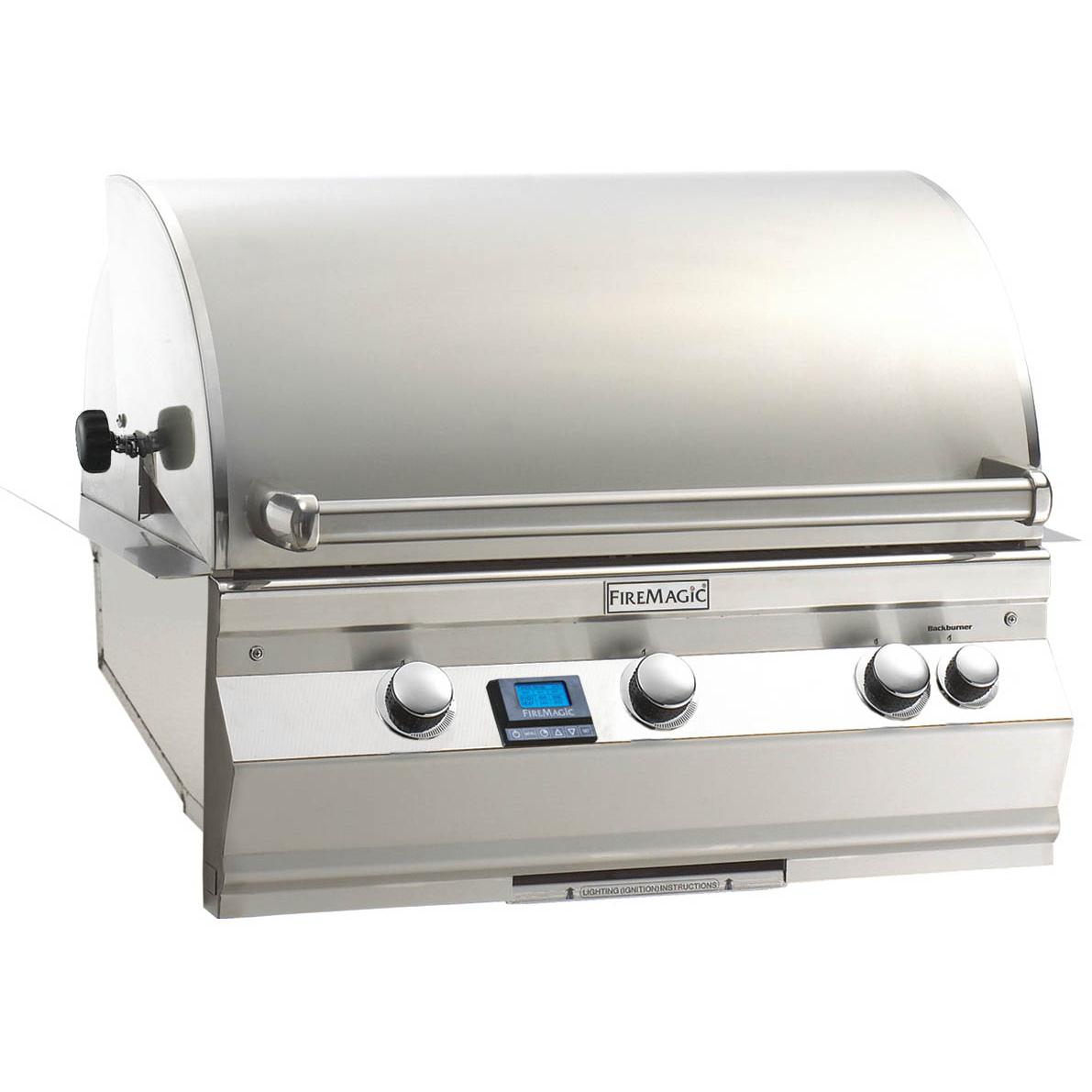 Fire Magic Aurora A540i Built-In Natural Gas Grill With Rotisserie - A540i-6E1N 2893968