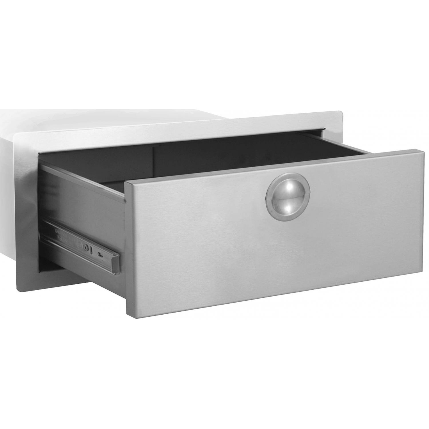 Bbqguys.com Portofino Series 36 Inch Stainless Steel Big Daddy Access Drawer