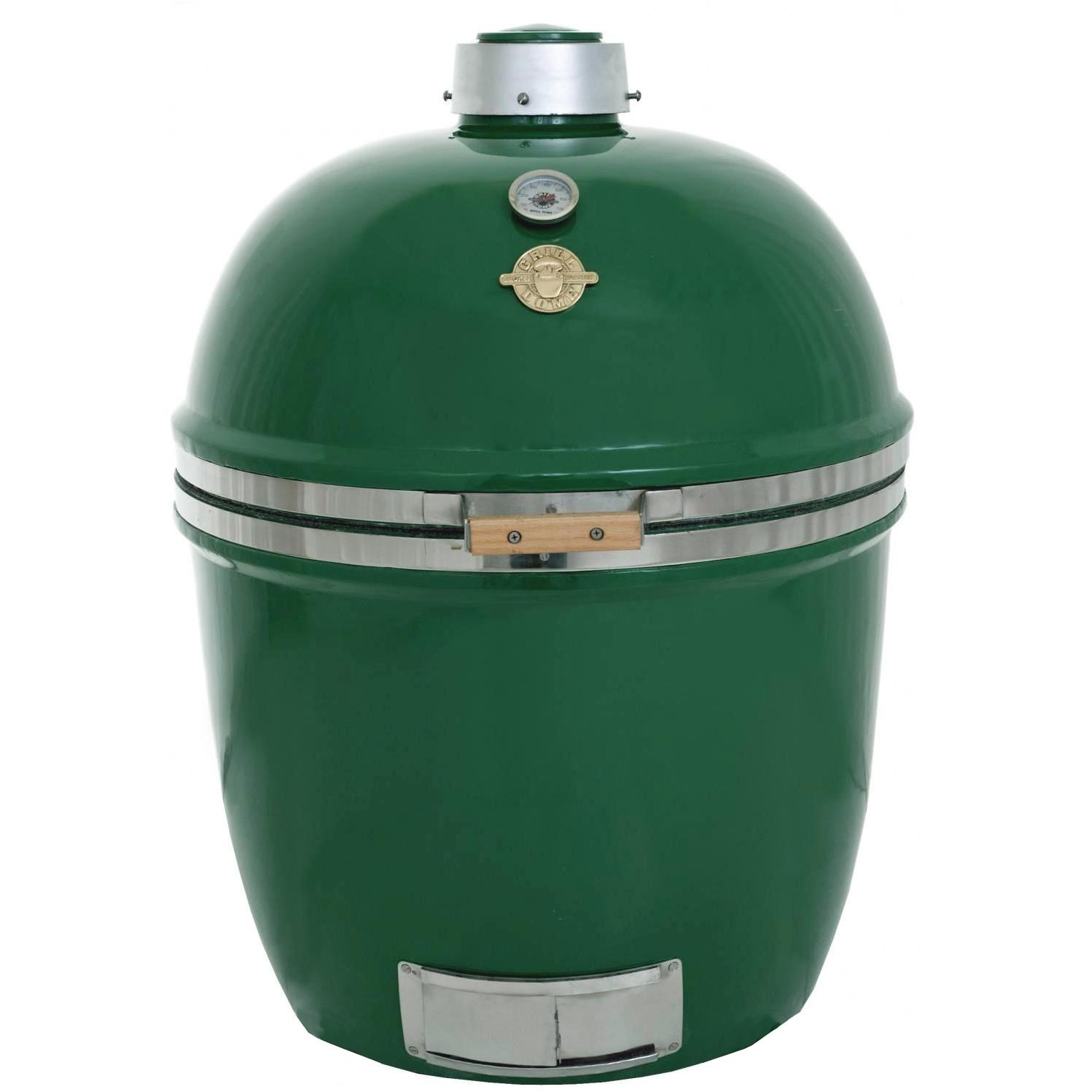 Grill Dome Infinity Series XL Kamado Grill - Green, Discount ID GDXL-GR