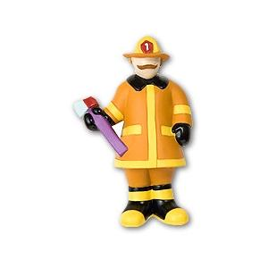 Olive Kids Character Drawer Pull - Heroes Fireman