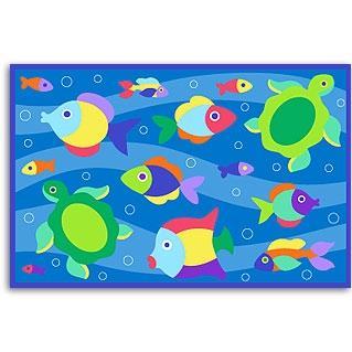 Olive Kids Laminate Placemat - Something Fishy