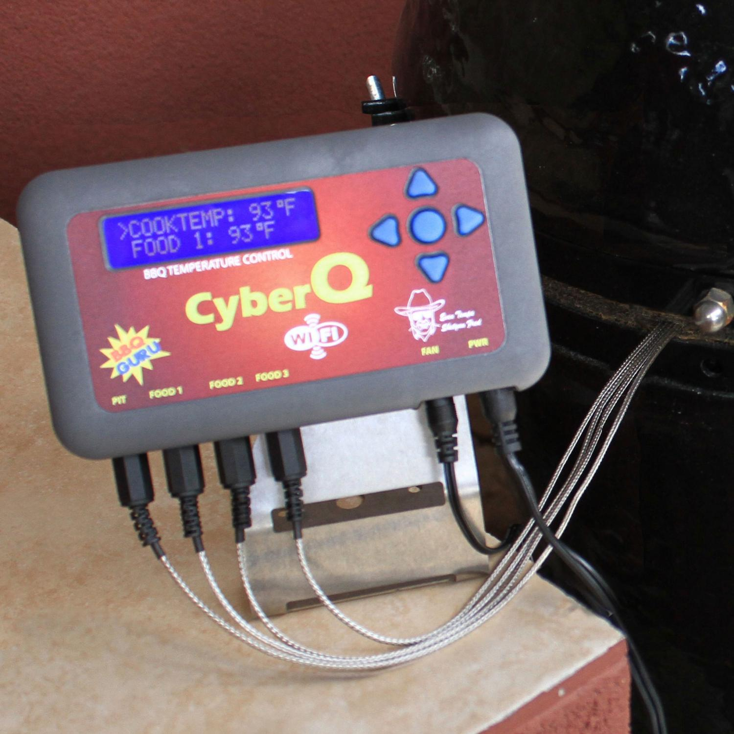 Bbq Guru Cyberq Wifi Digital Controller Kit For Primo Oval Jr.