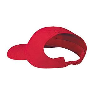Otto Cap Brushed Cotton Twill Low Profile Pro-Style Ponytail Cap - Red