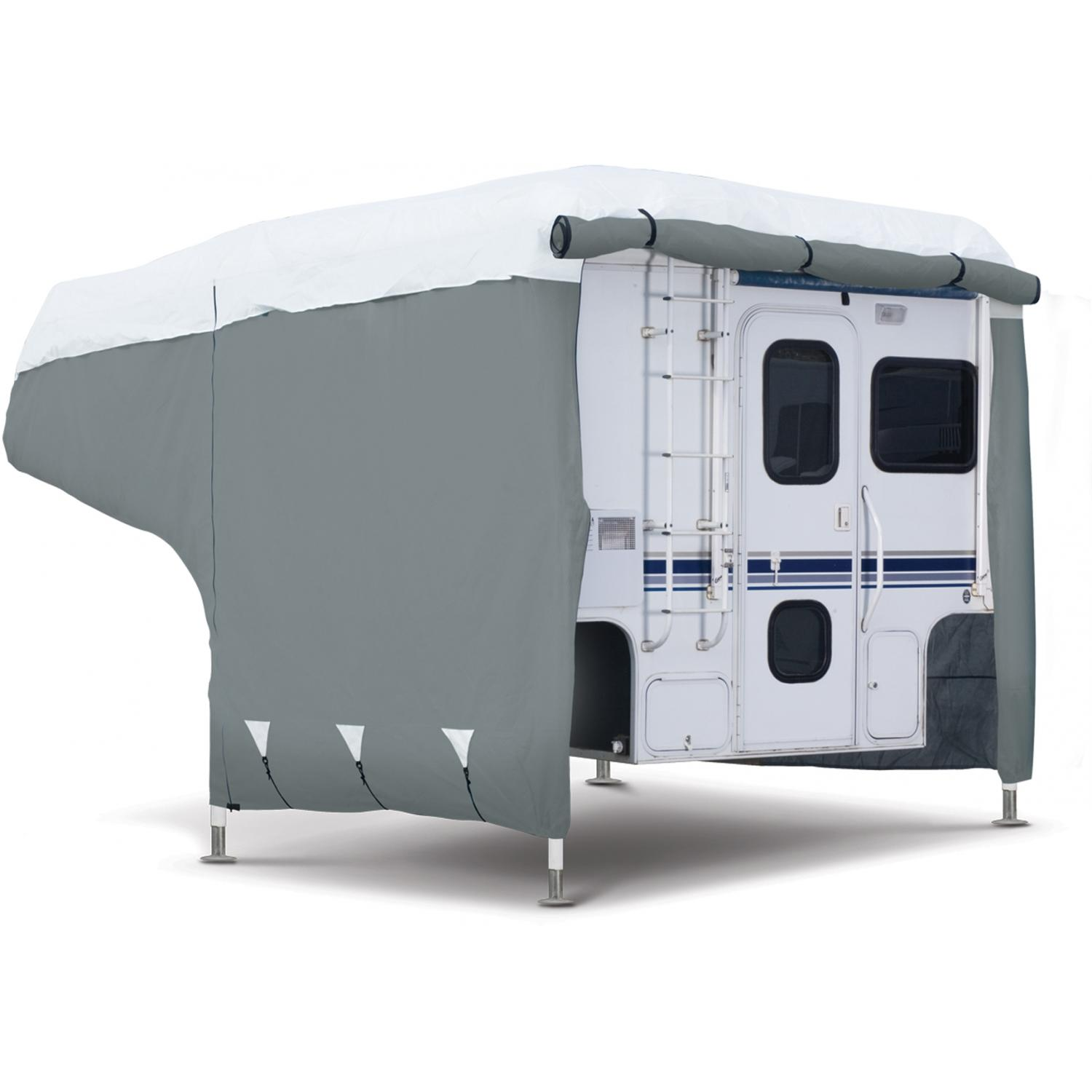 Classic Accessories PolyPRO 3 Camper Cover - Grey/White - Medium 2504717