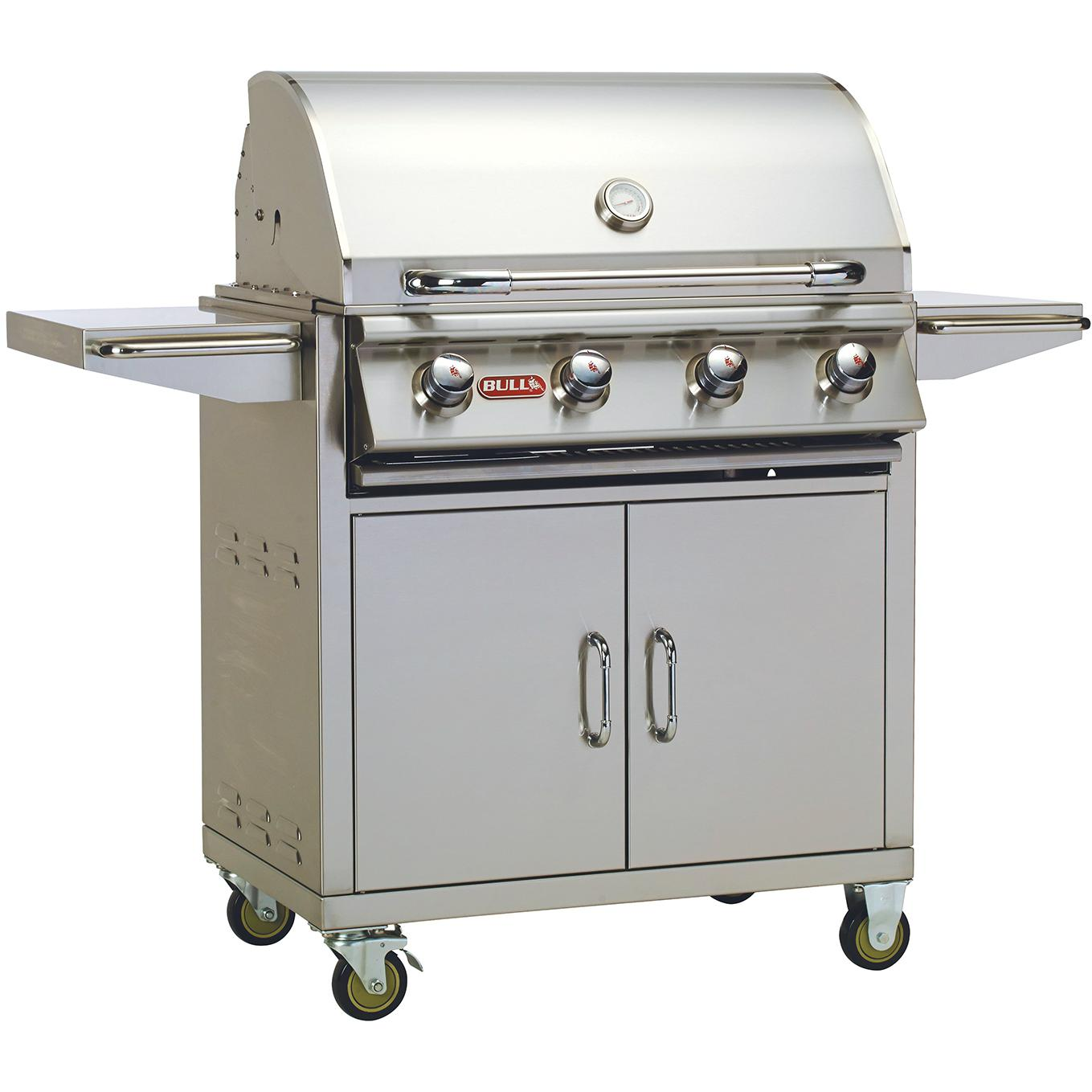 Bull Outlaw 30-inch 4-burner Natural Gas Grill On Cart - 26002