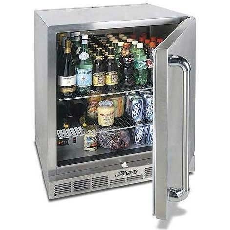 Alfresco Compact Refrigerator 28 Inch Under Counter Refrigerator & Kegerator