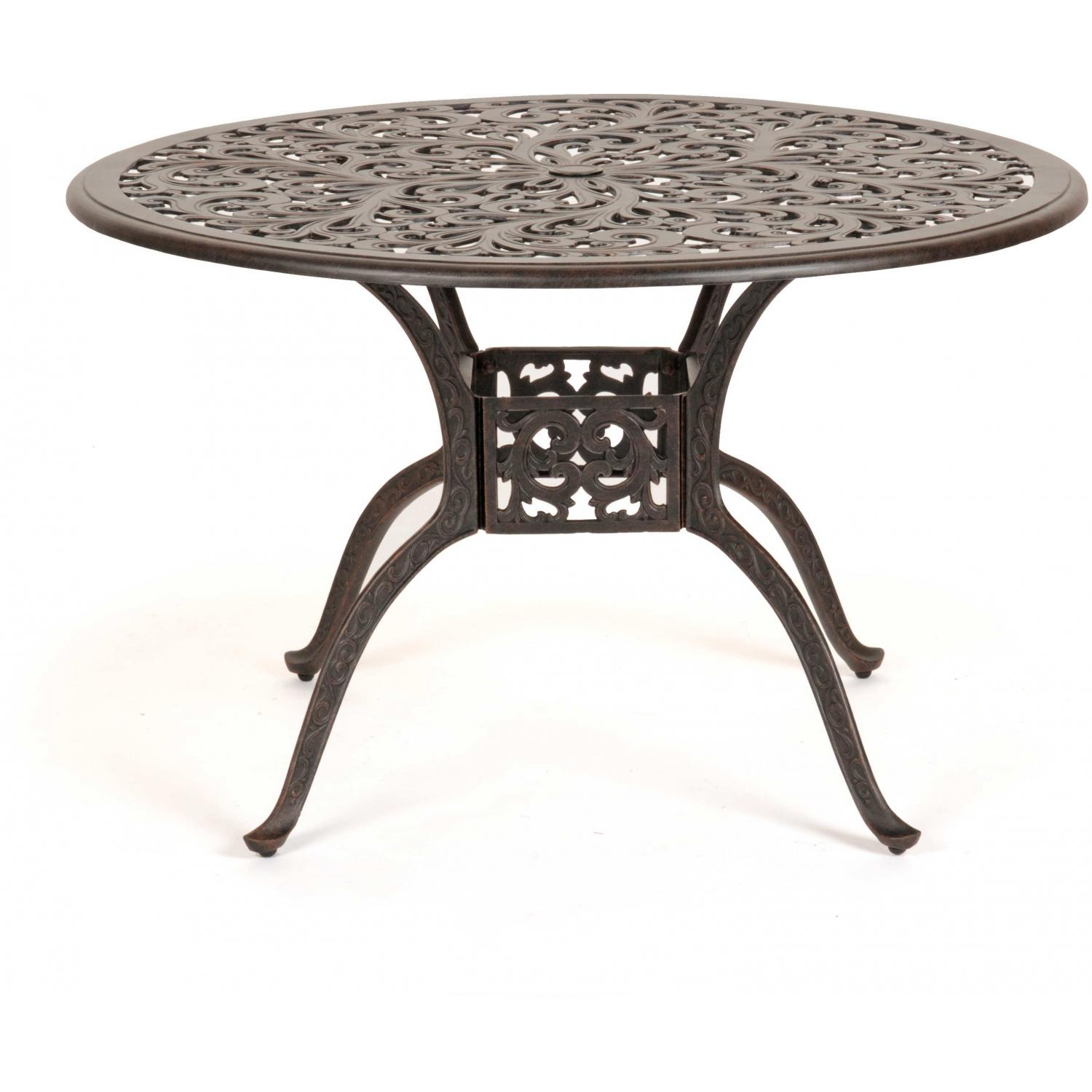 Caluco Florence Aluminum 48 Inch Round Table