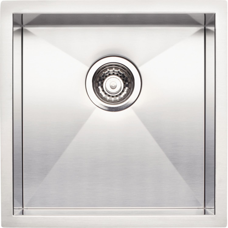 compare quatrus 17 x bowl undermount bar sink p