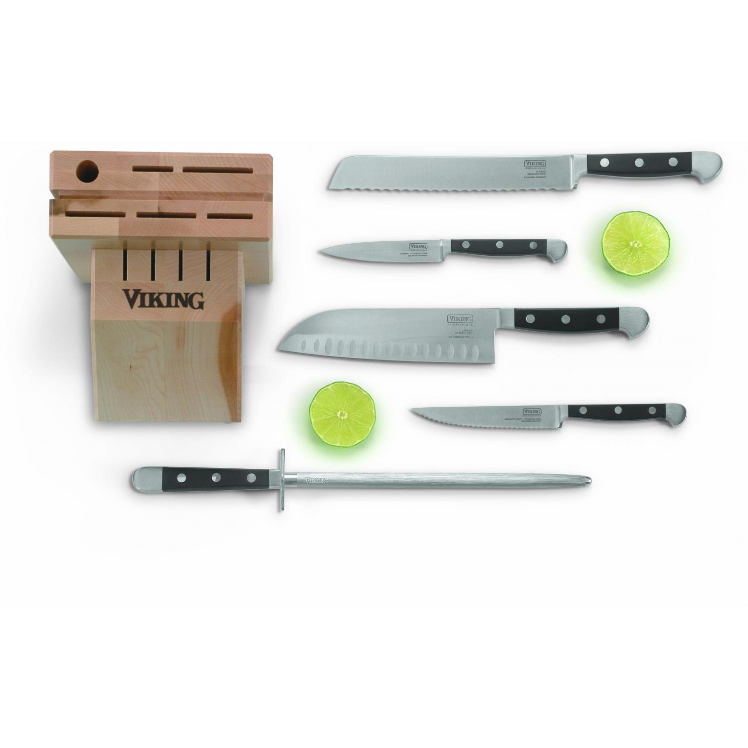 Viking VCSR0104 6-Piece Santoku Cutlery Set