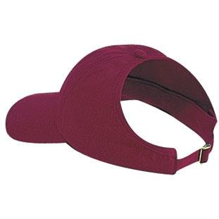 Otto Cap Brushed Cotton Twill Low Profile Pro-Style Ponytail Cap - Burgundy