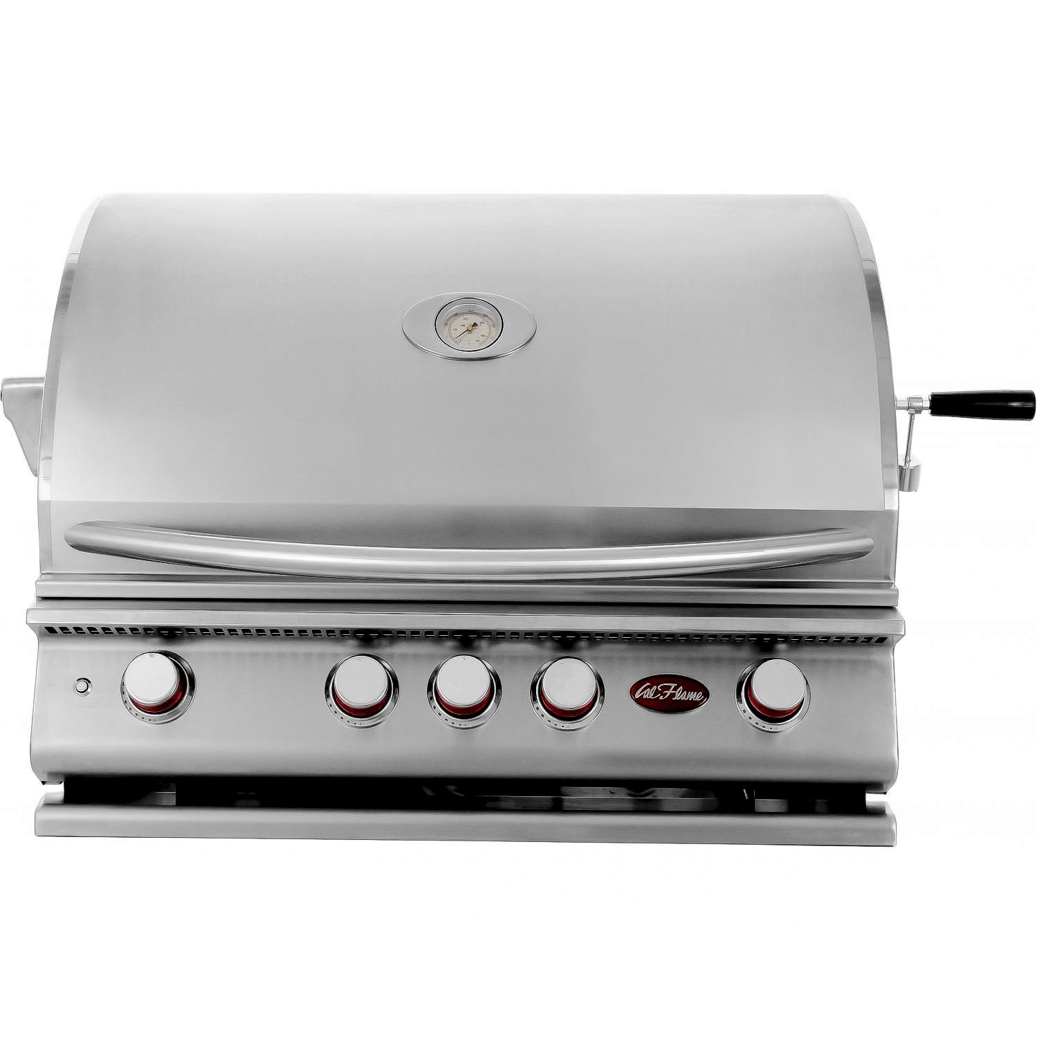 Cal Flame P4 32-Inch 4-Burner Built-In Propane Gas Grill - BBQ13P04 2872922