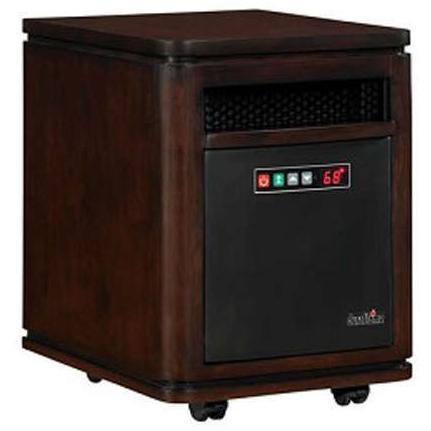 Duraflame 10HM4128-W504 Dartmouth Mobile Electric Heater - Roasted Walnut