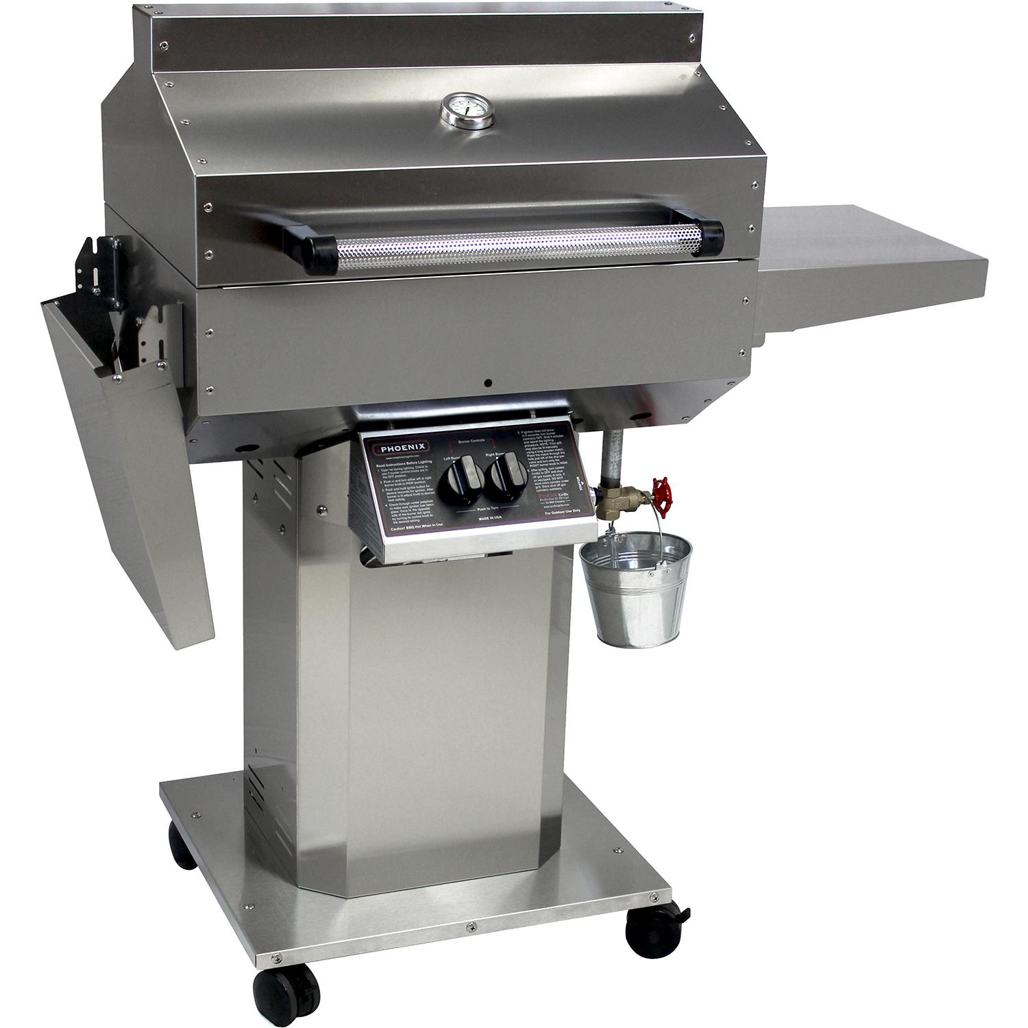 Phoenix Safe Grill SD Stainless Steel Natural Gas Riveted...