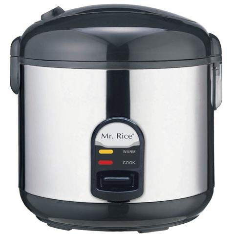 Sunpentown 10 Cups Stainless Steel Rice Cooker - SC-1812S