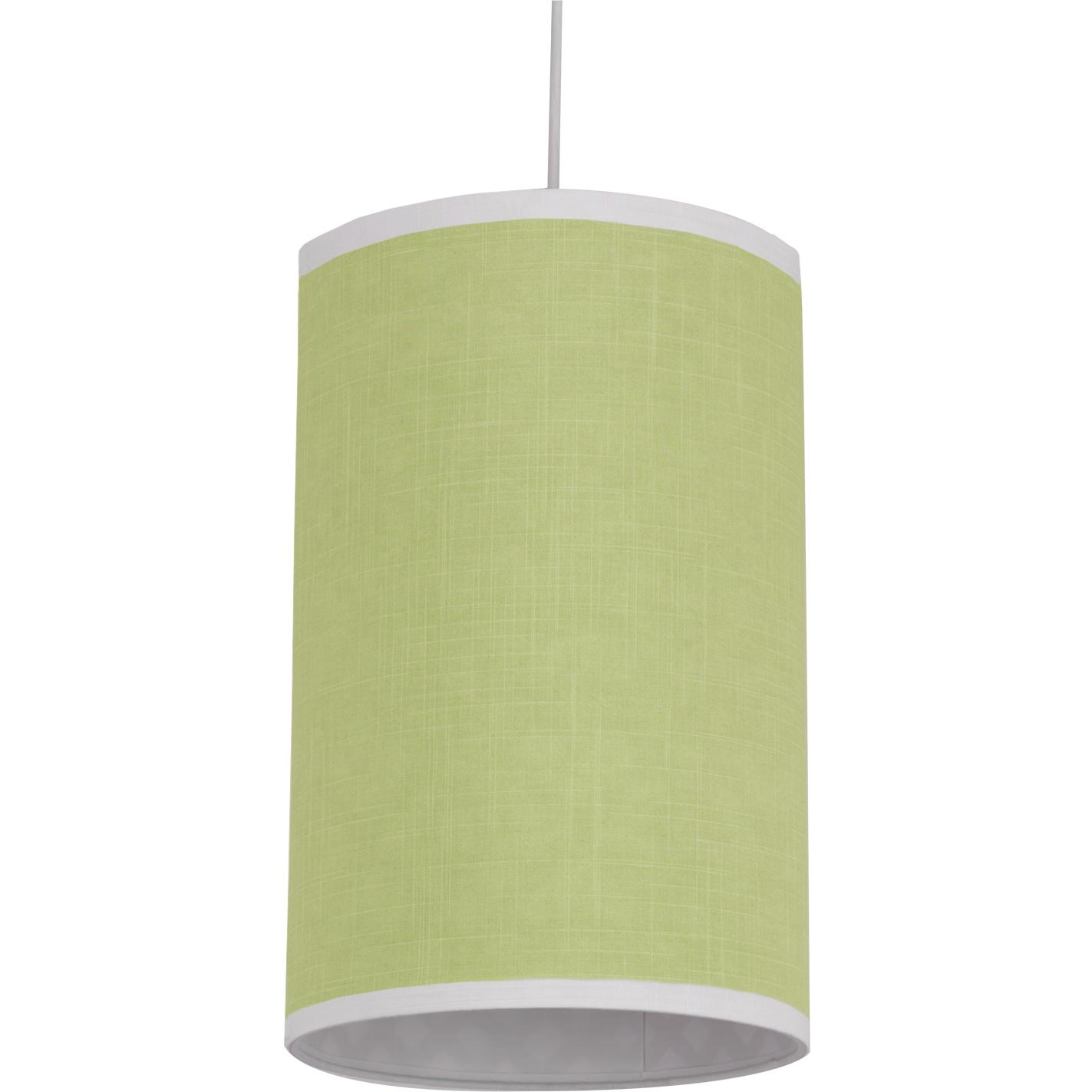 Oilo Cylinder Hanging Lamp - Modern Berries Spring Green Solid