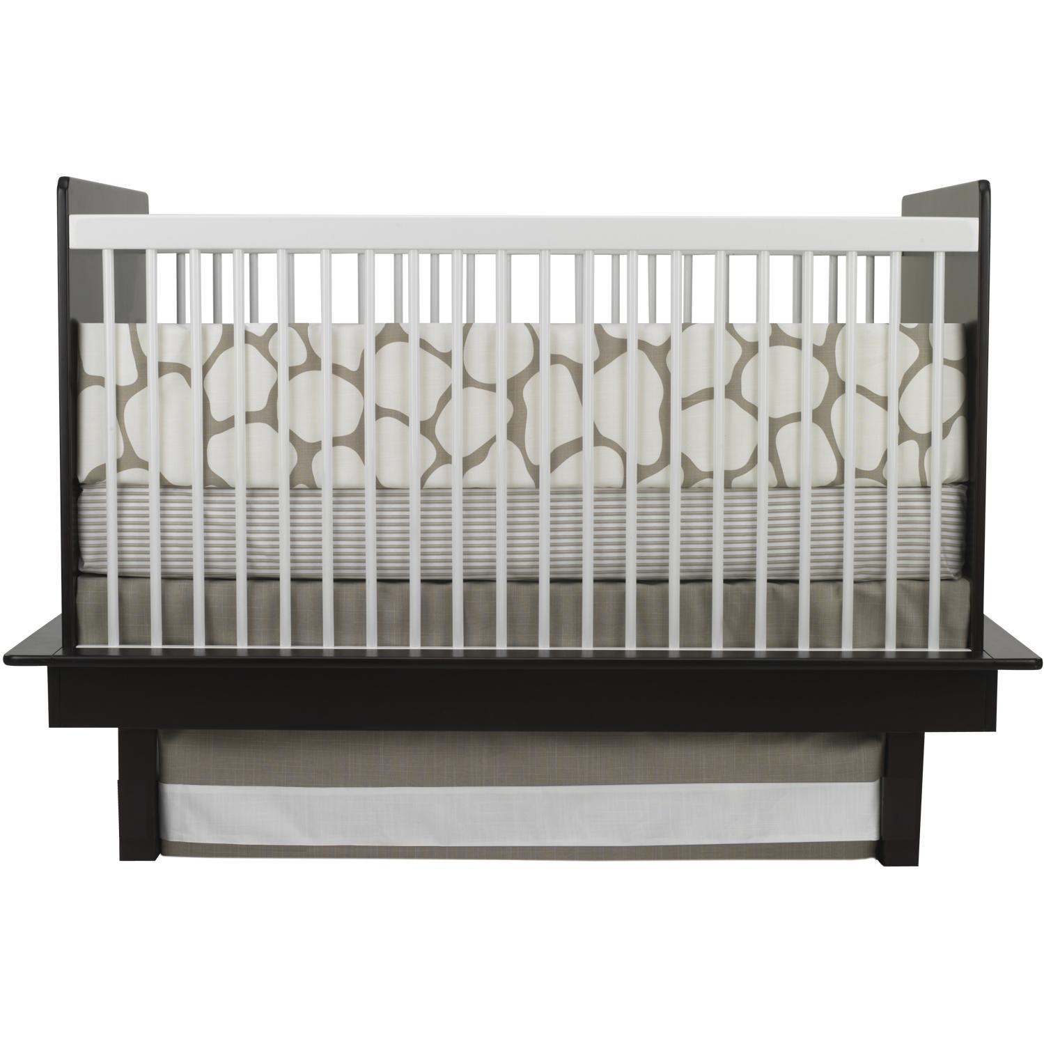Oilo Crib Sheet - Cobblestone Taupe