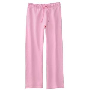 Bella Girls Straight Leg Sweatpants Large - Pink