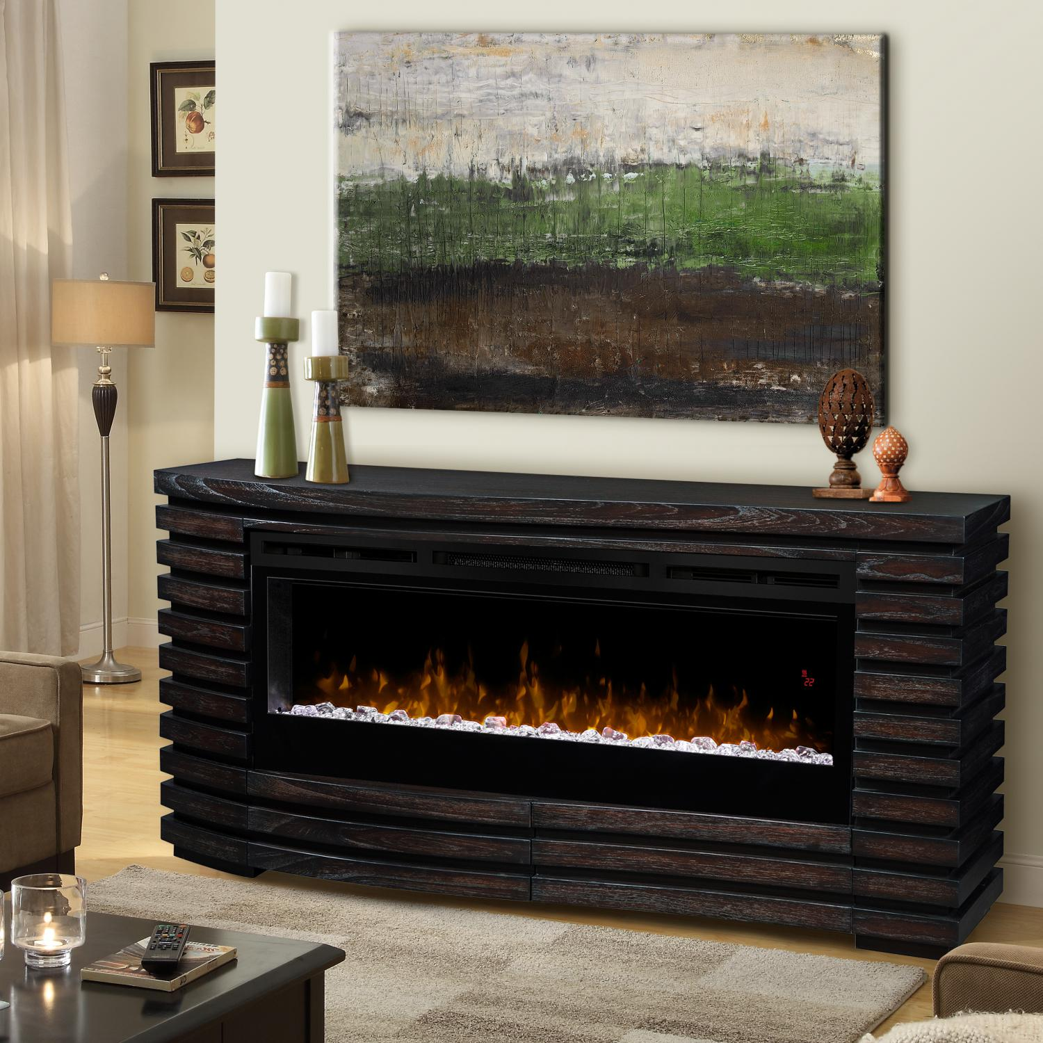 Dimplex Prism Elliot 70-Inch Electric Fireplace Mantel - ...