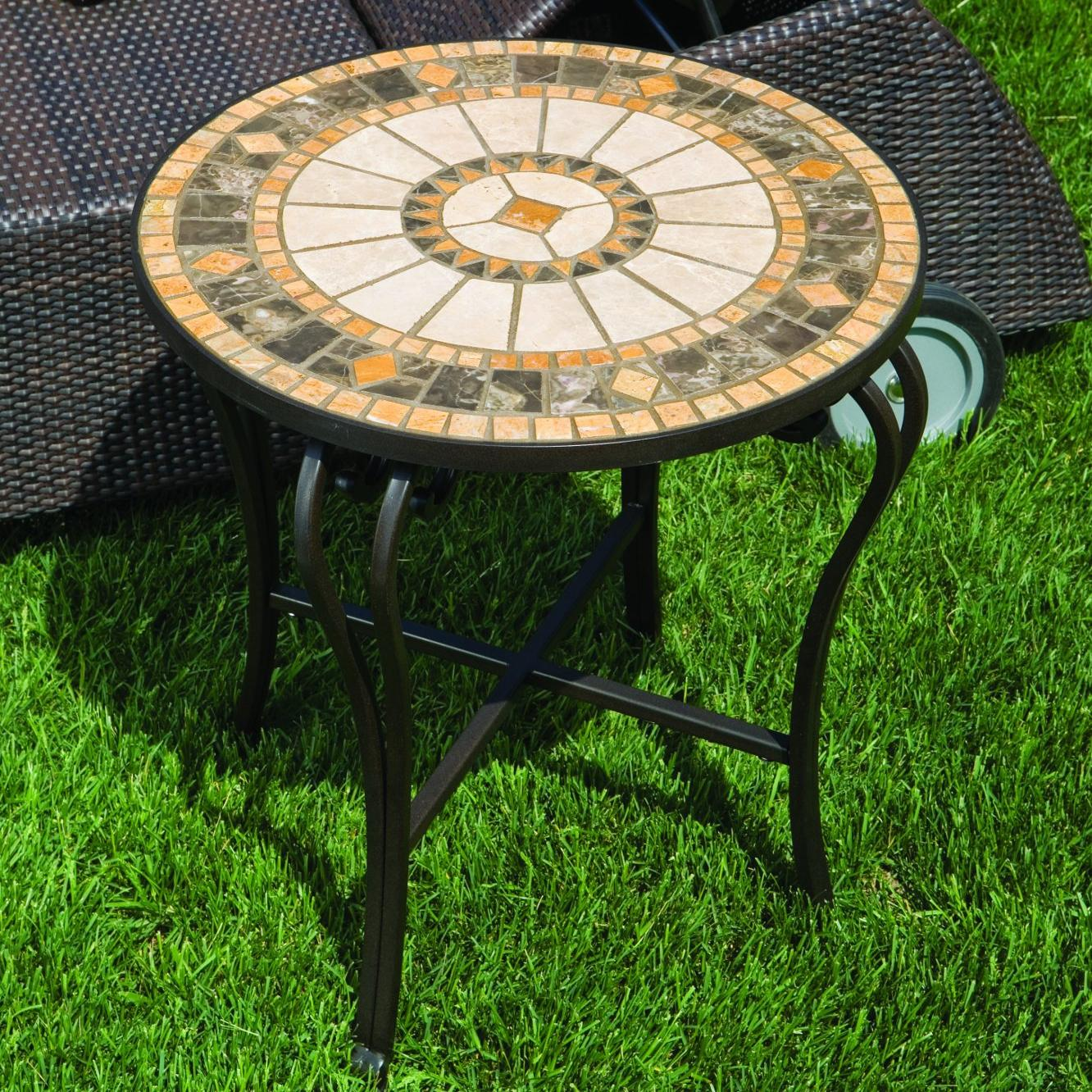 Alfresco Home Compass Mosaic Side Table at Sears.com