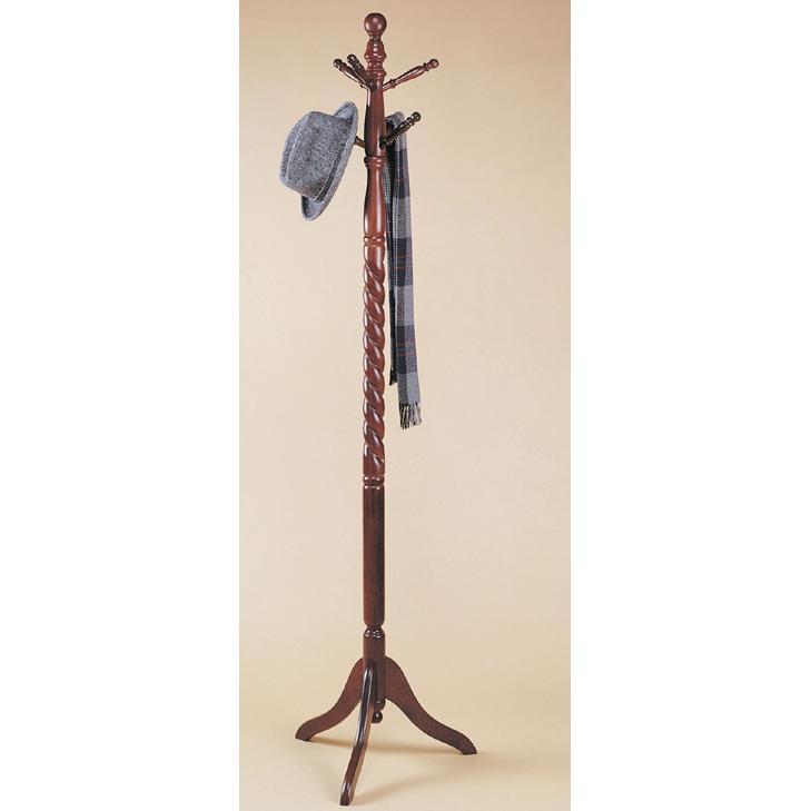 Powell Furniture - Heirloom Cherry Twist Coat Rack - 450Z