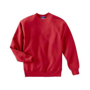 Champion Youth 50/50 Crewneck Sweatshirt Large - Red