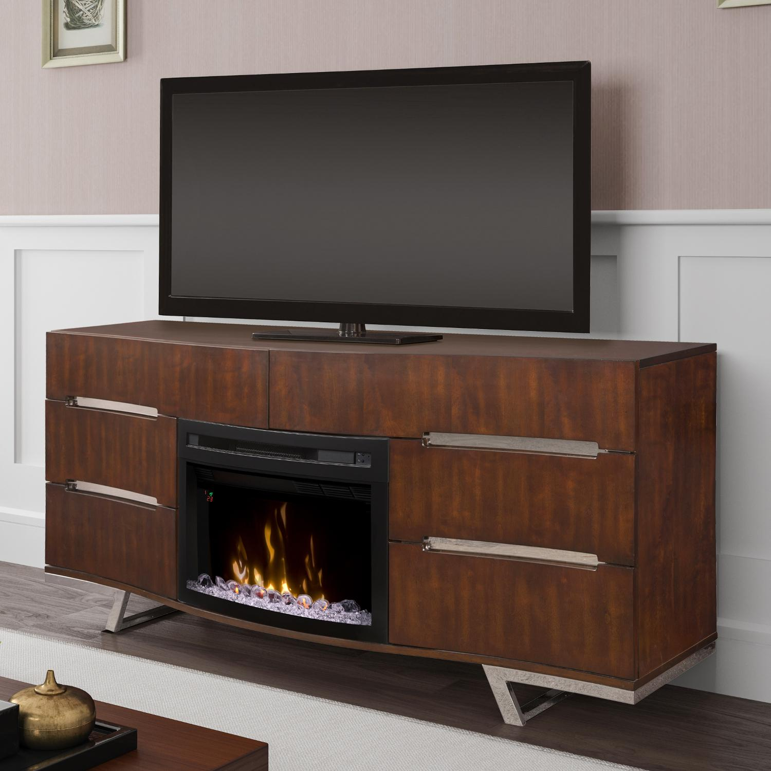 Dimplex Multi-Fire XD Valentina 72-Inch Electric Fireplac...