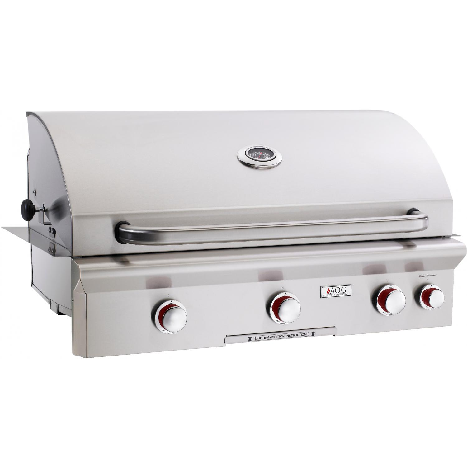 American Outdoor Grill T-Series 36-Inch Built-In Natural Gas Grill With Rotisserie 2894406