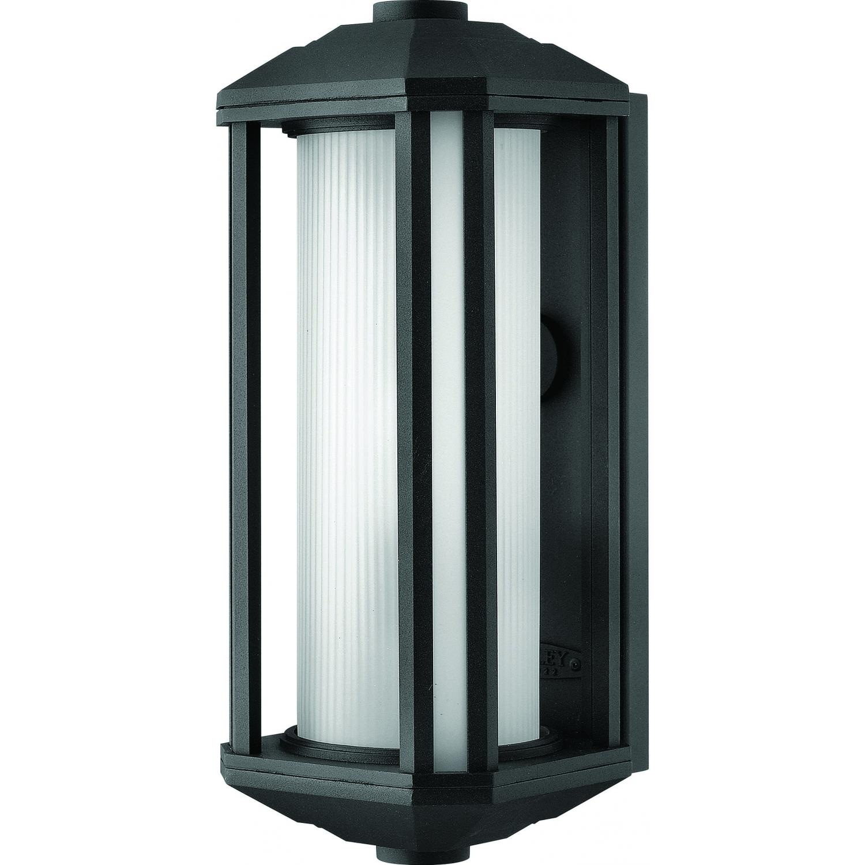 Hinkley Lighting Castelle 1390BK-GU24 26W 15-Inch One Light Outdoor Wall Light - Black 2899362