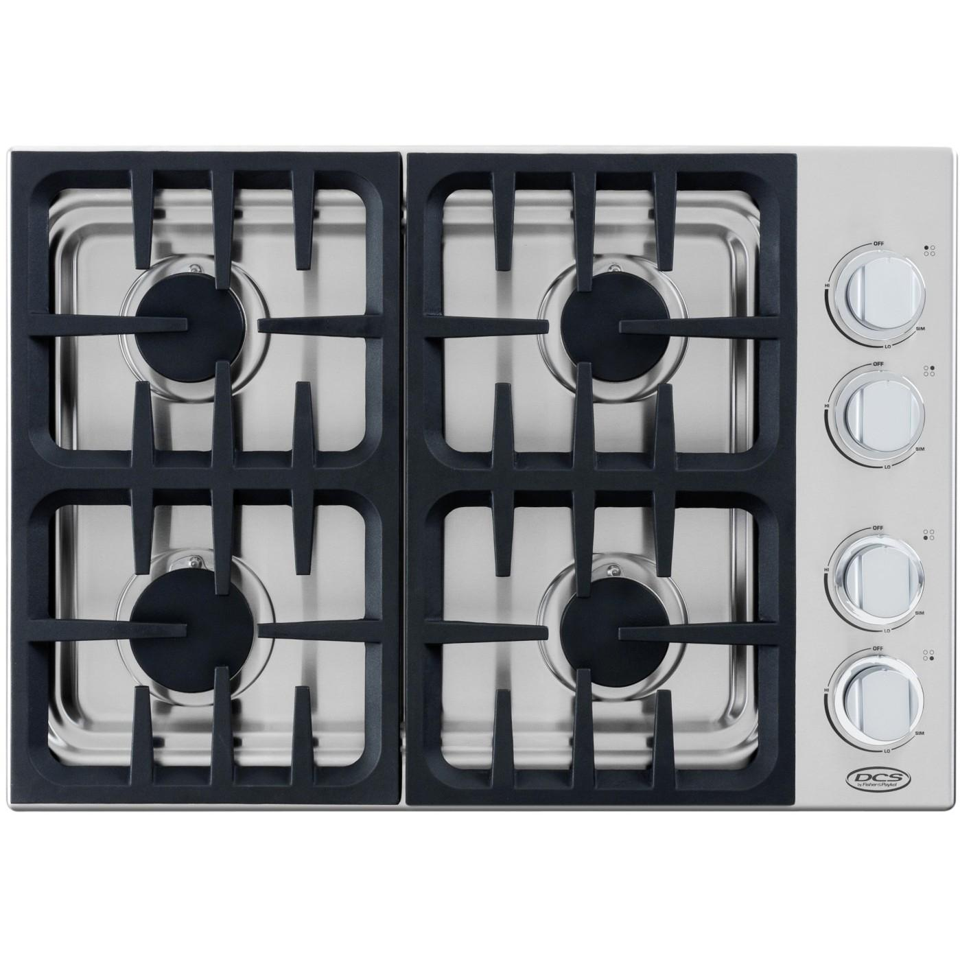 DCS CDU304N 30-Inch Natural Gas Drop-in Cooktop By Fisher Paykel