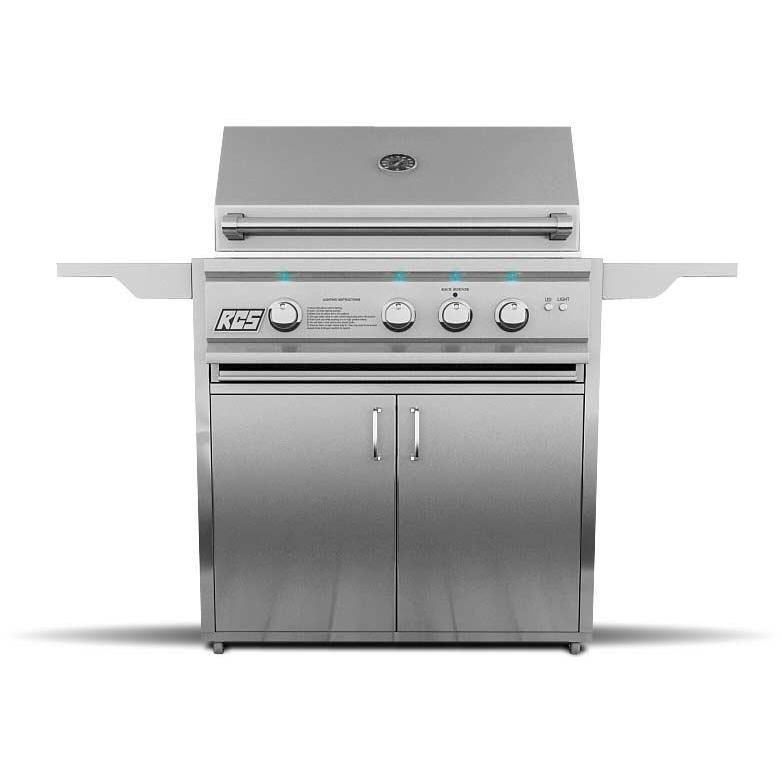 Rcs Cutlass Pro 30 Inch Propane Gas Grill On Cart at Sears.com