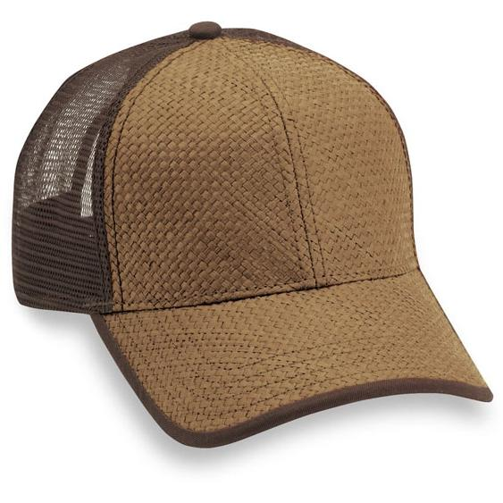Cobra Caps High Density Paper Straw Cap - Toffee / Brown, Discount ID HDP-M-1001