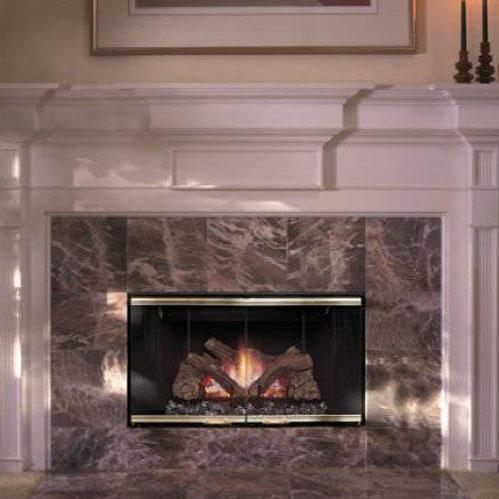 Monessen 400BBVNSC Designer Series 36-Inch Slim Line Natural Gas B-Vent Fireplace System With Standing Pilot