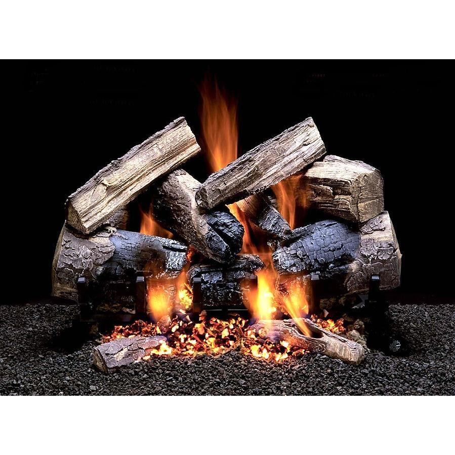 Firegear 18-Inch Wild Cherry Vented Log Set Without Burner