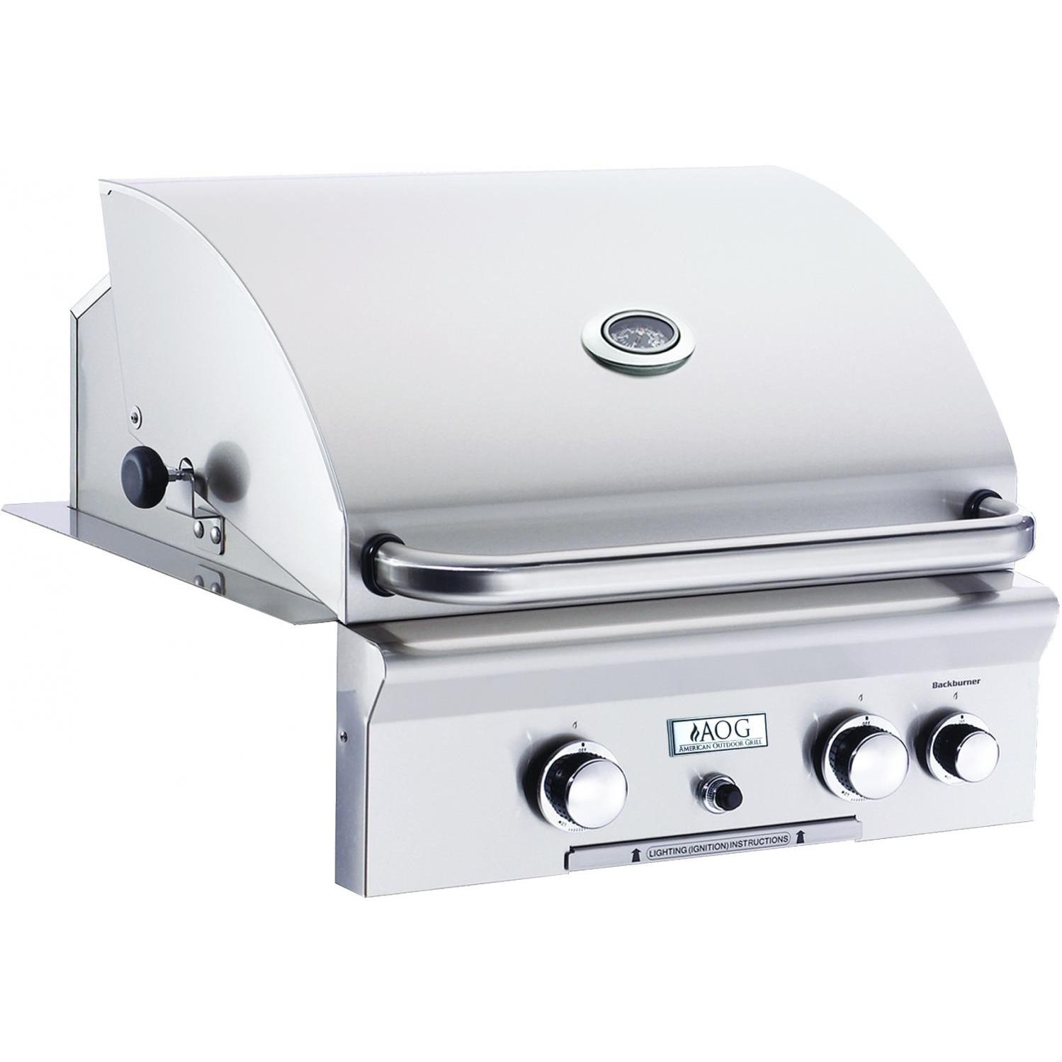 AOG American Outdoor Grill 24 Inch Built-in Propane Gas Grill W/ Rotisserie at Sears.com