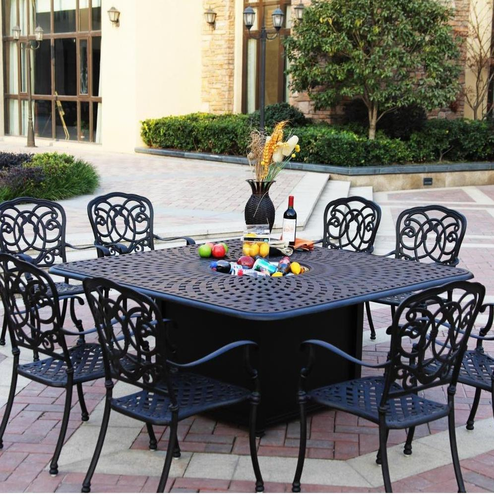Patio dining sets discount pictures for Affordable outdoor dining sets