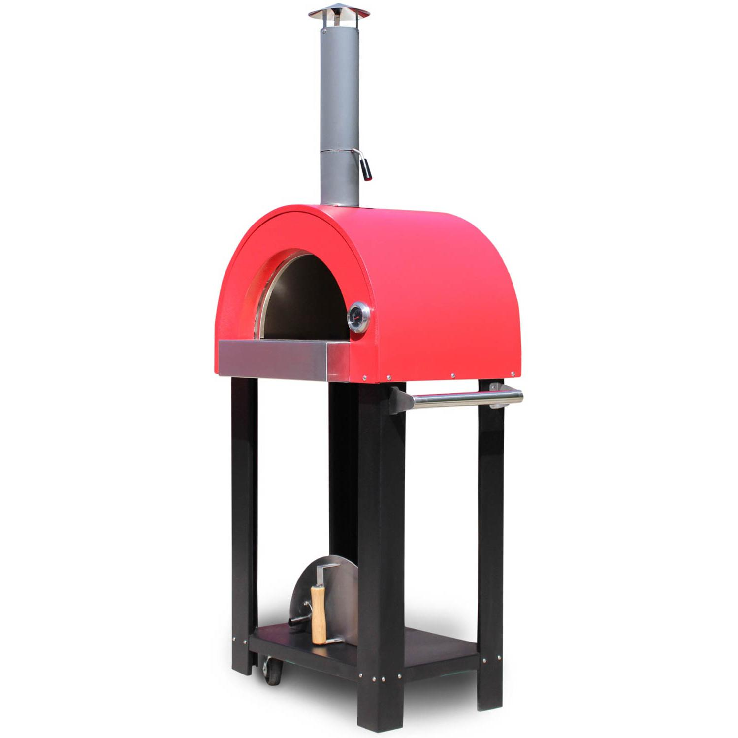 Bella Nano C22 (22 Inch) Wood Fired Outdoor Pizza Oven On Cart