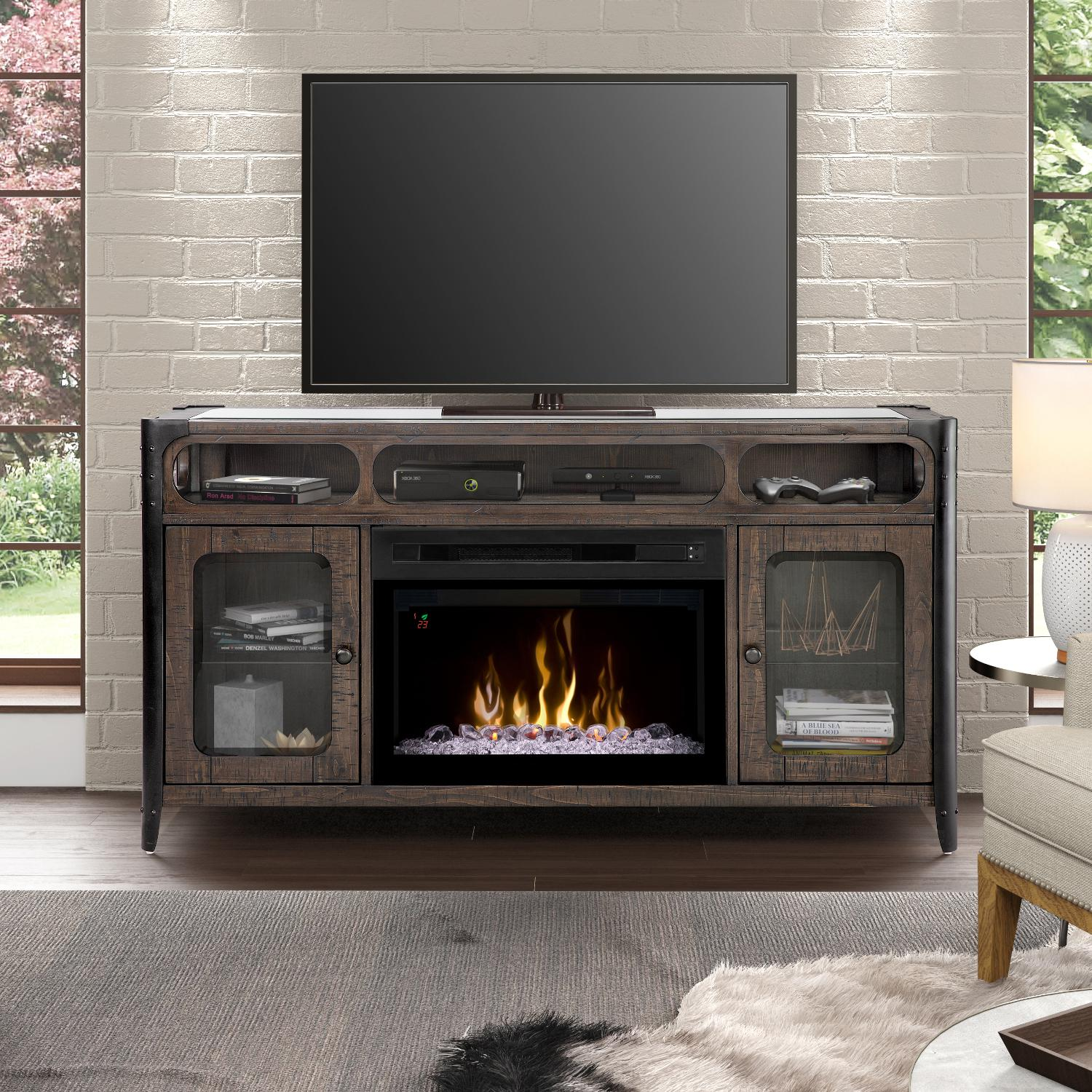 Dimplex Multi-Fire XD Paige 60-Inch Electric Fireplace Me...
