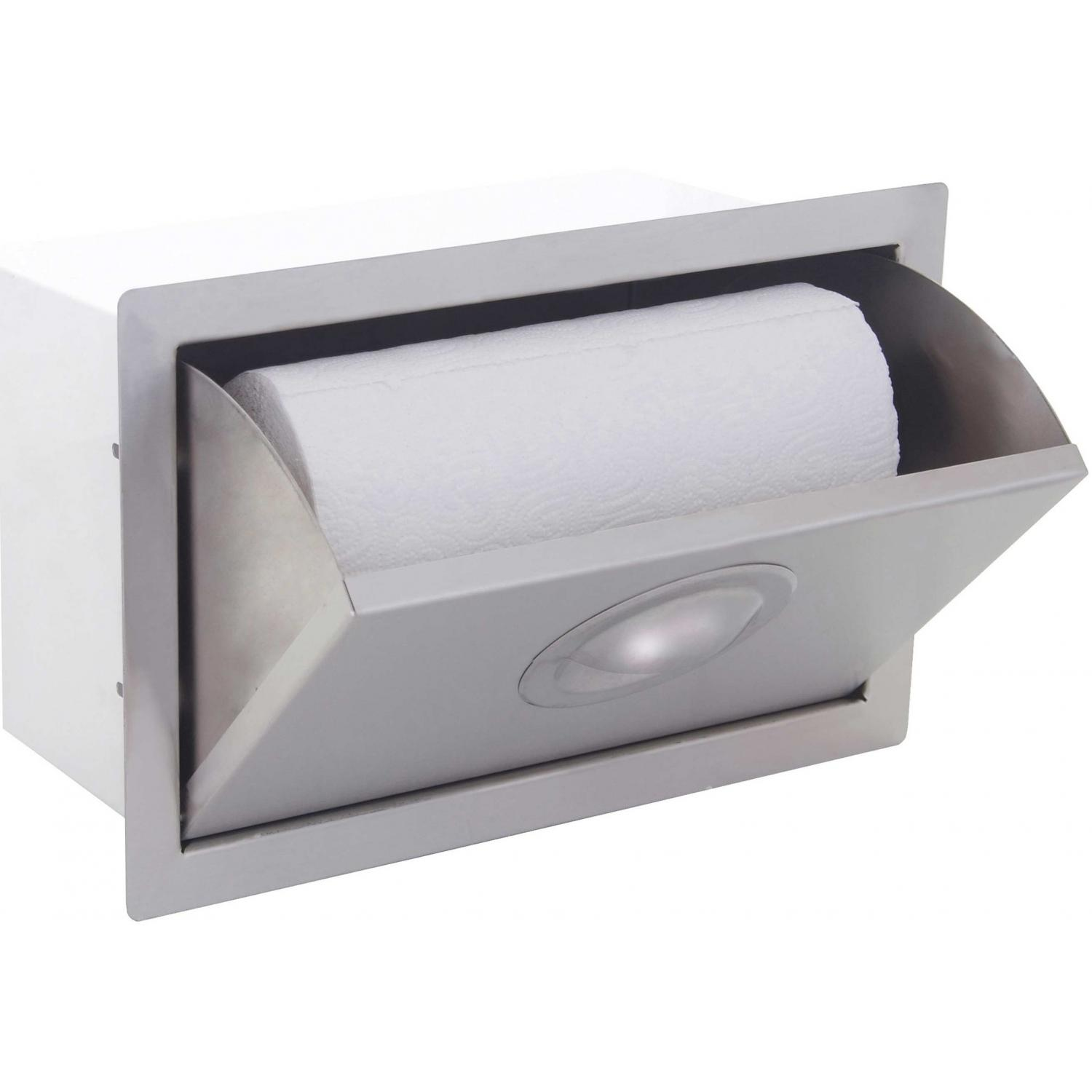 Bbqguys.com Portofino Series Built-in Stainless Steel Paper Towel Dispenser
