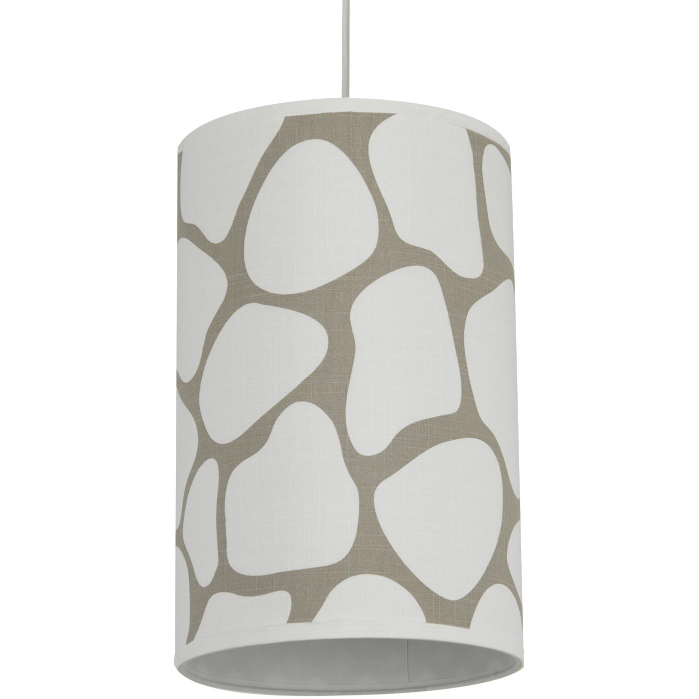 Oilo Cylinder Hanging Lamp - Cobblestone Taupe