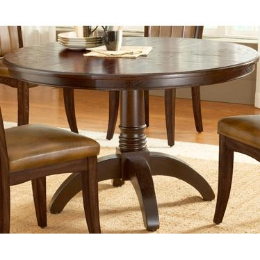 Hillsdale Grand Bay Round Dining Table Cherry - 4379DTB
