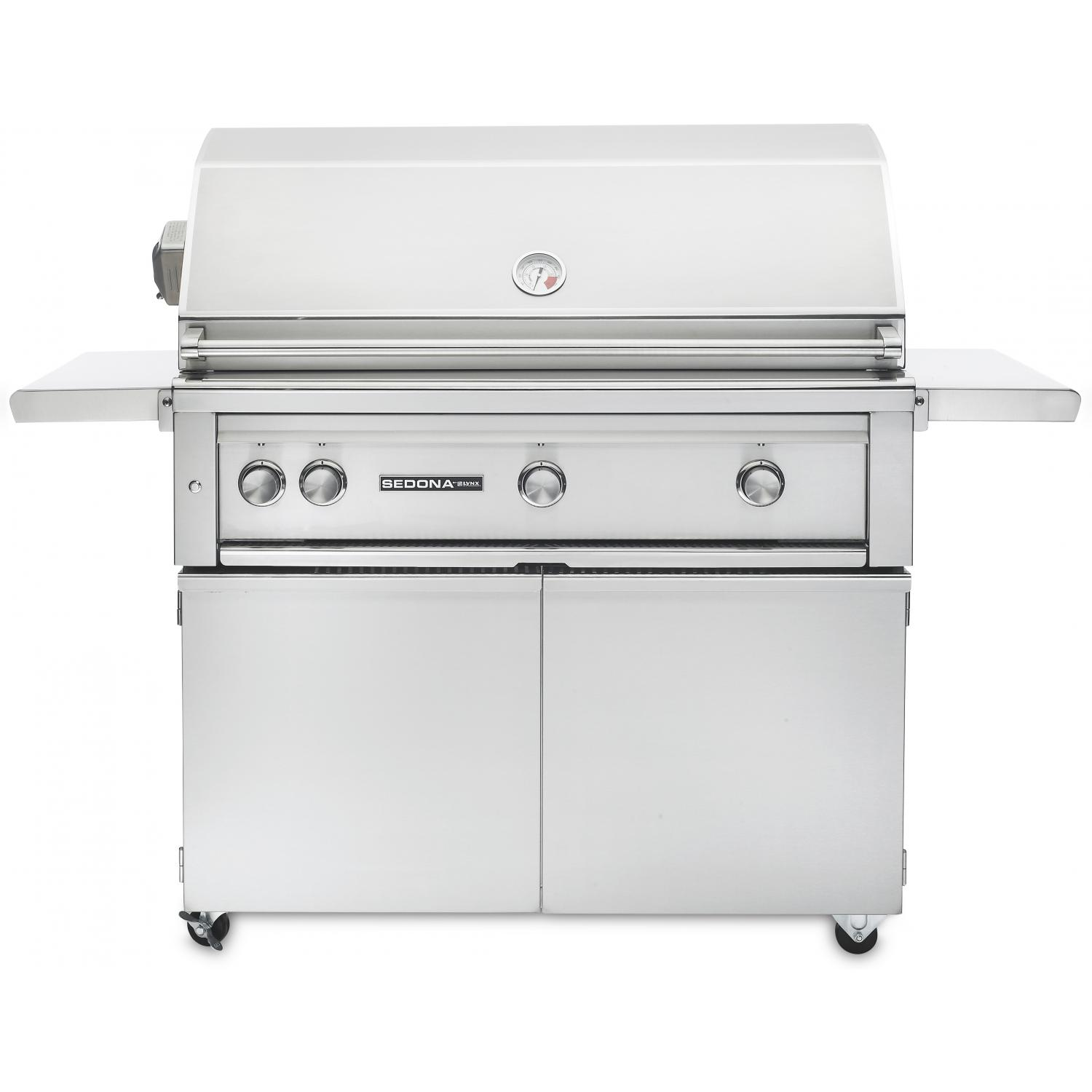 Sedona By Lynx 42-Inch Natural Gas Grill On Cart With ProSear Burner And Rotisserie L700PSFR 2880868