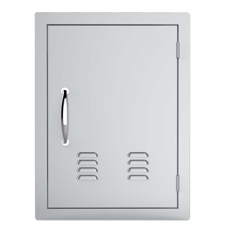 Sunstone A-dv1724 17-inch By 24-inch Vertical Door With Vents Stainless Steel