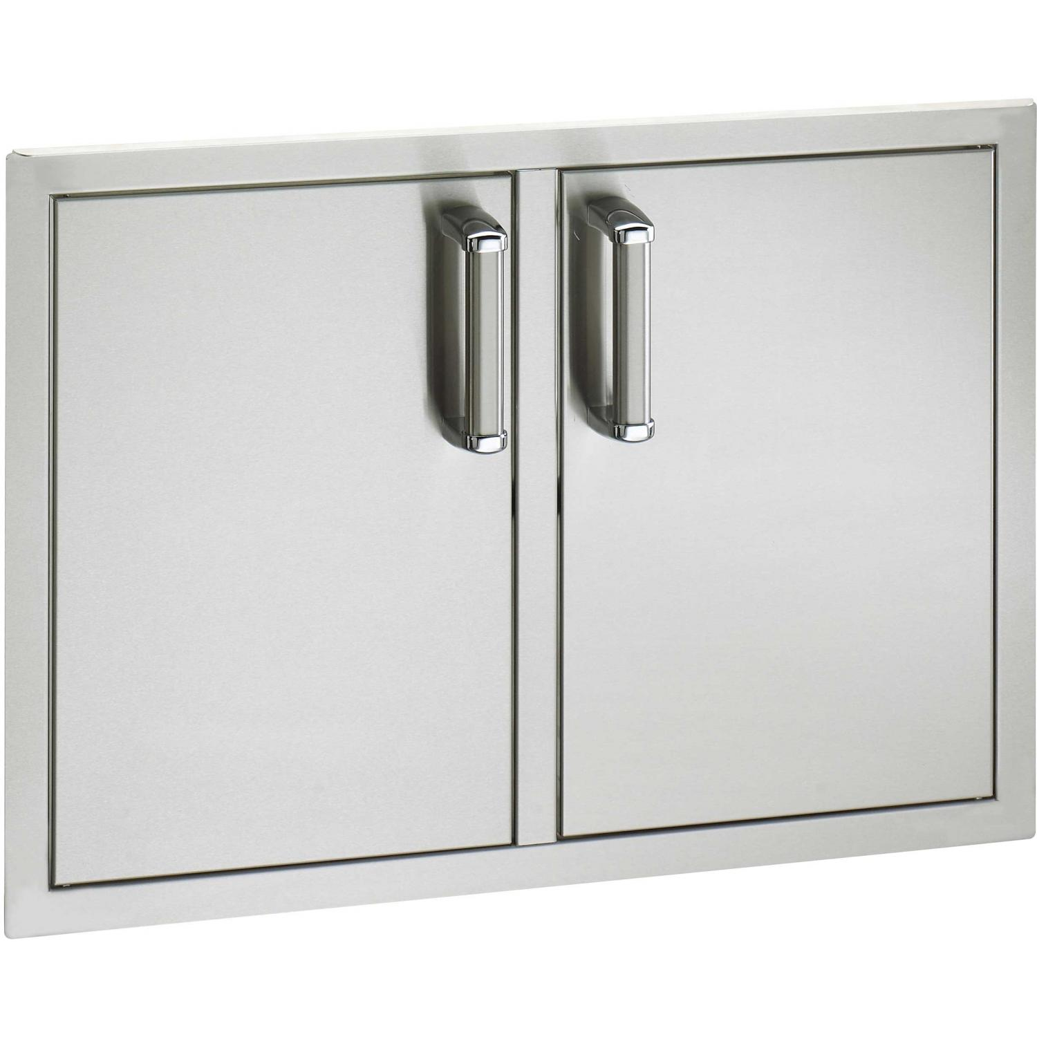 Fire Magic Echelon Flush Mount 30 Inch Double Access Door With Drawers And Trash Bin Storage at Sears.com