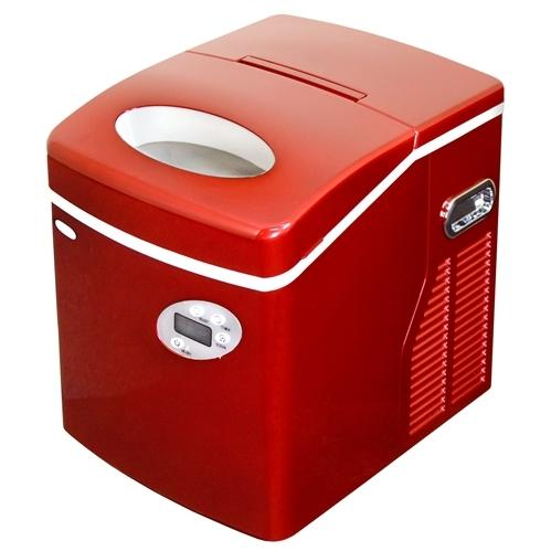 ... ice maker red ai 215r newair 50 lb portable ice maker red ai 215r get