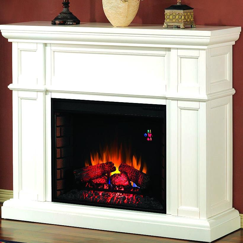 Artesian 52-inch Electric Fireplace - White - 28wm426