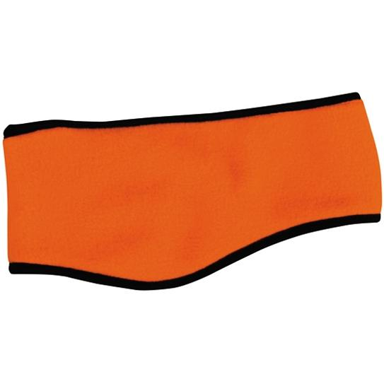 Outdoor Cap Lightweight Fleece Ear Band - Blaze Orange